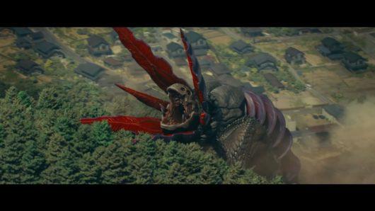 シン・ウルトラマンのガボラが吠えるカット